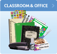 classroom & office supplies