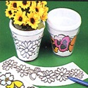 Snap-Apart Flower Pot
