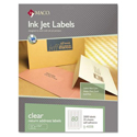 Laser Printing Labels- Clear