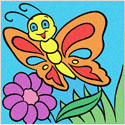 Pearlized Picture- Butterfly (3 PACK)