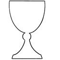 Large Cardbaord Cutouts- Kiddush Cup