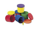 Colorful Round Containers