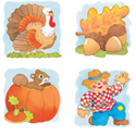 Fall Harvest Sticker