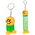 Smiley  Spring Keychain