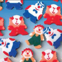 Mini Clown Erasers