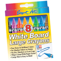 Large White Board Crayons