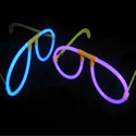 Glow in the dark eyeglasses