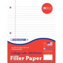 Notebook Filler Paper - College Ruled
