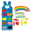 Color Overalls Bulletin Board Set