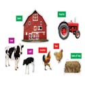 Photographic Farm Bulletin Board Set