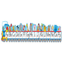 Alphabet Train Bulletin Board Set