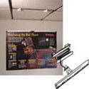 Grid ceiling poster hanging kits