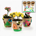 Paper-Mache Garden Pot Craft Kit