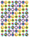 Spring Flowers super Spots Sticker