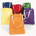 Canvas Large Tote Bag With Handles