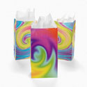 Paper Tie-Dyed Bags