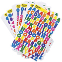Alphabet, Numbers, & Shapes Stickers