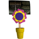 Flower Fancy Card Holder Kit - Chanukah