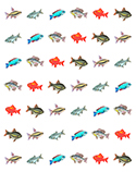 Small Fish Stickers