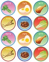 Pesach Symbol Stickers