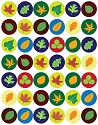 Assorted Leaf Stickers
