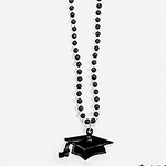 Plastic Graduation Necklaces