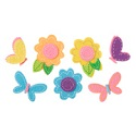 Butterfly And Flower Stickers