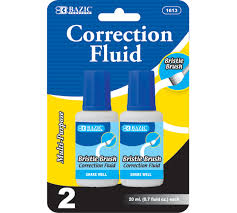 Correction Fluid White Out