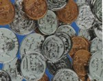 Plastic Realistic  Coins