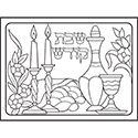 Color Your Own Puzzle - Shabbos