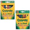Washable Crayons- Kid's First