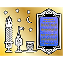Create Your Own Velvet Art - Havdalah