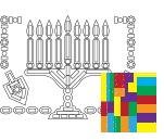 Sticker Craft - Chanukah (6-PACK)