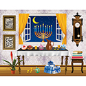 Reusable Stickers - Chanukah