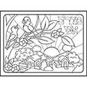 Color Your Own Puzzle - Modeh Ani