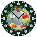 Clock - Fruit (6 pack)