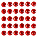 Large Rhinestones Strips - Red
