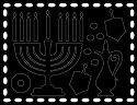 Scratch Art Stickers - Chanukah
