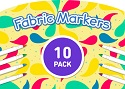 Fabric Markers- 10 PACK