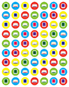 SIDDUR DOT STICKERS