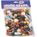 Wooden Colored Beads