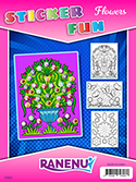 Sticker Fun Flowers (6/pk)