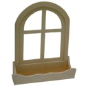 Window With Sill 3-D