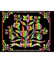 Scratch Art Poster - Flowers (6 PACK)