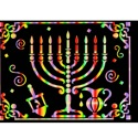 Chanuka Scratch Art Poster (6 pack)
