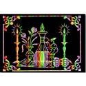 Shabbos Scratch Art Poster (6 PACK)