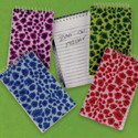 Plush Animal Print Spiral Notepad