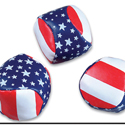"2"" Stars and Stripes Kickball"