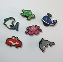 Rubber Sea Animal Fun Buttons