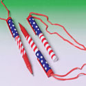 Patriotic Pen Necklaces